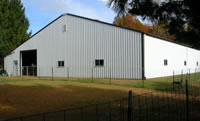 Our Dog Agility Training Building