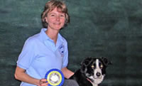 Robin Ford and her dog Reilly: Finalist, 2007 AKC Nationals